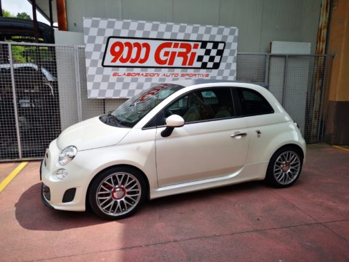 Fiat 500 Abarth powered by 9000 Giri Milano