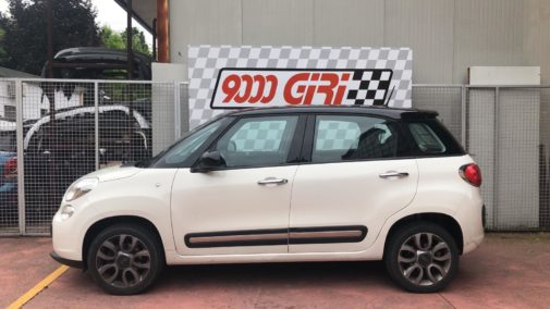 Fiat 500 L 900 turbo powered by 9000 Giri