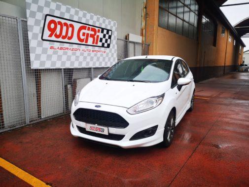 Ford Fiesta 1.4 16v powered by 9000 Giri