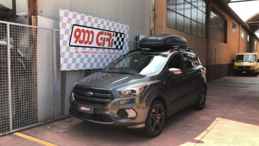 Ford Kuga 2.0d powered by 9000 Giri Milano