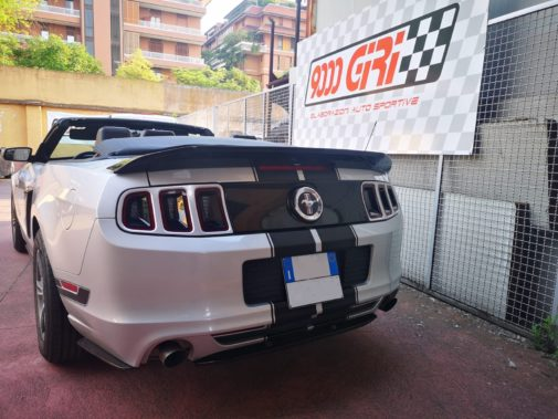 Ford Mustang 3.7 V6 powered by 9000 Giri