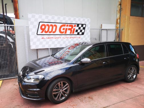 Vw Golf 7 1.4 Tsi powered by 9000 Giri