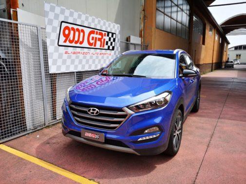 Hyundai Tucson 1.7 crdi powered by 9000 Giri