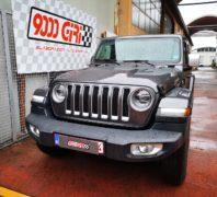 """Elaborazione Jeep Wrangler Jl 2.0 turbo benzina """"Dylan Dog"""""""