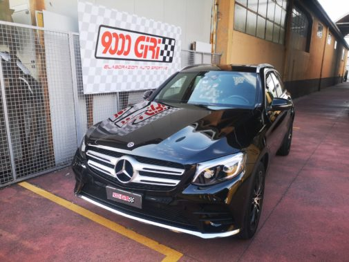 Mercedes 350 Glc powered by 9000 Giri