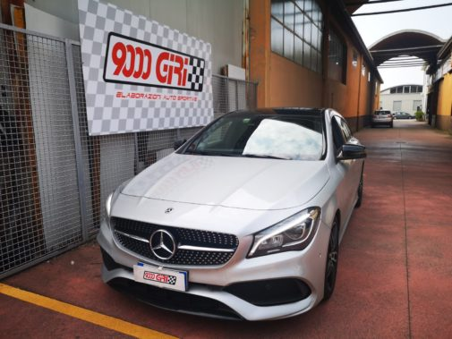 Mercedes cla 200cdi powered by 9000 giri