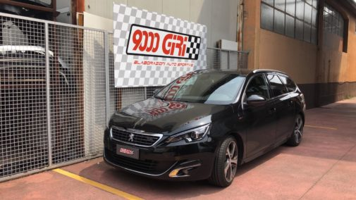 Peugeot 308 1.6 hdi powered by 9000 giri