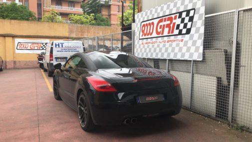 Peugeot Rcz powered by 9000 Giri