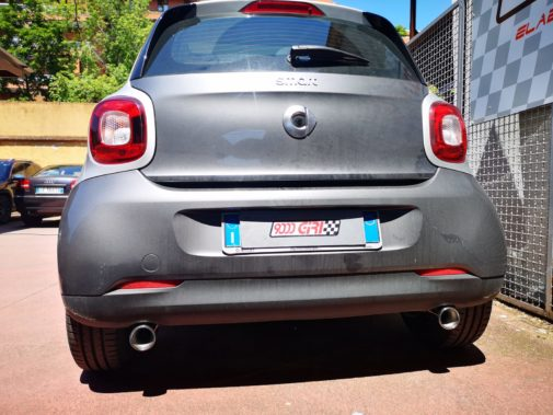 Smart Fortwo 900 turbo powered by 9000 giri