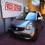"""Elaborazione Smart ForFour 900 Turbo """"Piccola peste"""""""