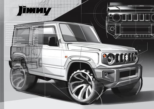 Suzuki Jimny powered by 9000 Giri & 4wd Italia