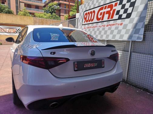 Alfa Giulia 2.0 turbo Veloce Q4 powered by 9000 Giri