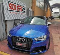 "Elaborazione Audi Rs3 ""Belva scatenata"""