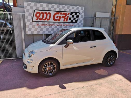 Fiat 500 1.2 16v powered by 9000 Giri