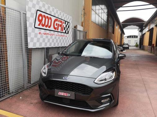 Ford Fiesta 1.5d powered by 9000 Giri