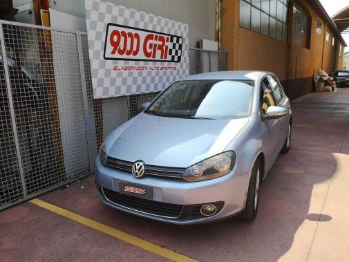 Vw Golf VI 1.4 tsi powered by 9000 giri