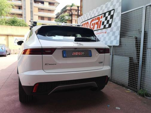 Jaguar e-Pace 2.0d powered by 9000 Giri