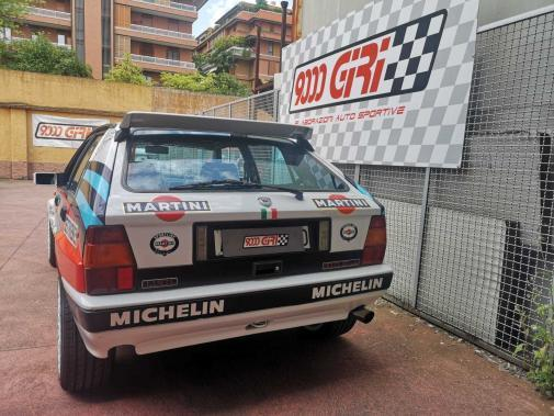 Lancia Delta Integrale turbo 8v powered by 9000 Giri