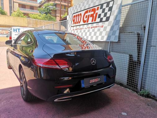 Mercedes C 250 cdi powered by 9000 Giri