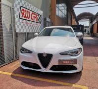 """Elaborazione Alfa Romeo Giulia 2.0 turbo """"La voce del tuono"""""""