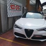 """Elaborazione Alfa Romeo Stelvio 2.0 Turbo Q4 """"Vetta innevata"""""""