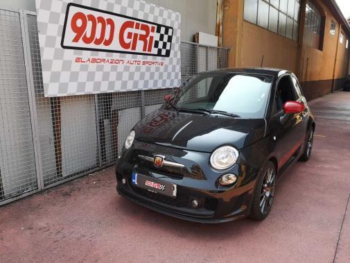 Fiat 500 Abarth 595 180 cv powered by 9000 Giri