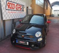 """Elaborazione Fiat 500 Abarth 595 """"Pop corn"""""""