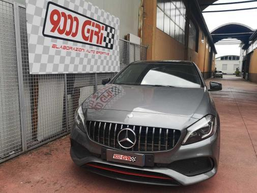 Mercedes A 250 powered by 9000 Giri