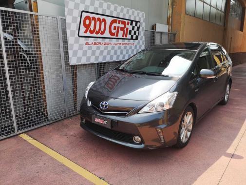 Toyota Prius Hybrid powered by 9000 Giri