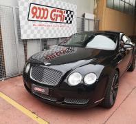 """Elaborazione Bentley Continental GT """"Schedina vincente"""""""