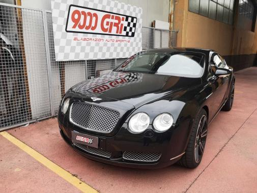 Bentley Continental Gt powered by 9000 Giri