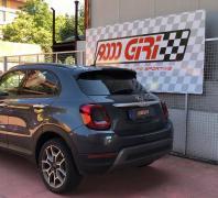 """Elaborazione Fiat 500 X 1.6 e torque """"Destinazione finale"""""""