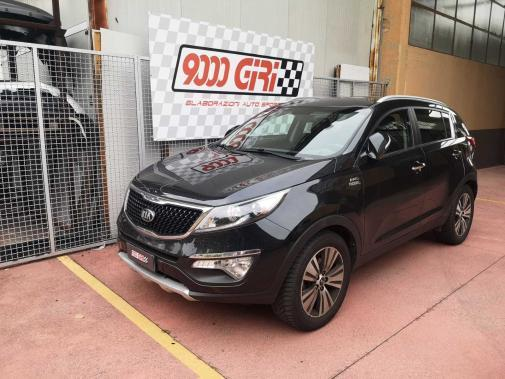 Kia Sportage 1.7 crdi powered by 9000 giri
