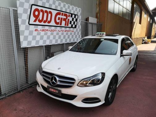 Mercedes E200 Cdi powered by 9000 Giri