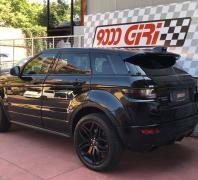 """Elaborazione Range Rover Evoque 2.2 td """"Round up"""""""