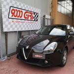 """Elaborazione Alfa Romeo Giulietta 1.4 tb """"Sfiziosa"""""""