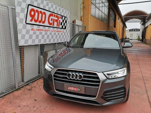 Audi Q3 2.0 tdi powered by 9000 Giri