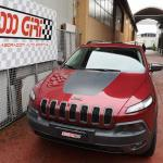 """Elaborazione Jeep Cherokee Kl 3.3 """"Picco innevato"""""""