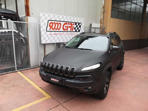 Jeep Cherokee Kl 3.3 powered by 9000 Giri