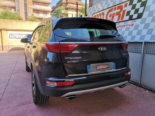 Kia Sportage 2.0 crd powered by 9000 Giri