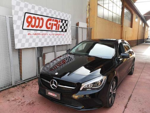 Mercedes cla 200d powered by 9000 Giri