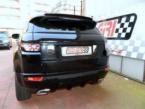 Range Rover Evoque 2.2 td powered by 9000 Giri