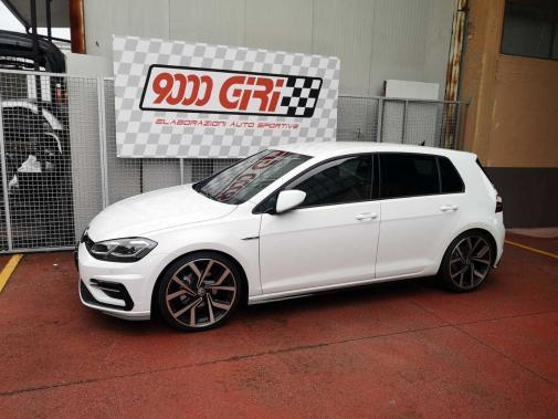 Vw Golf 7.5 1.5 Tsi powered by 9000 Giri