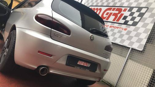 Alfa Romeo 147 1.6 ts powered by 9000 giri