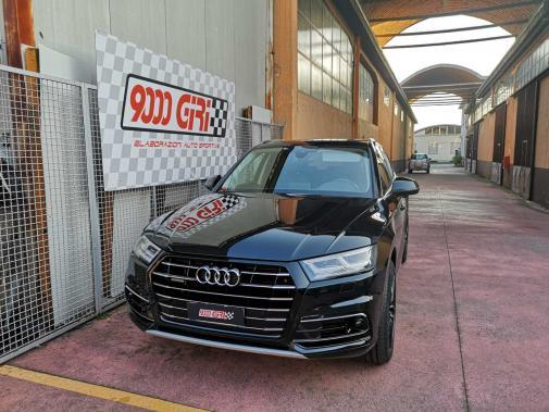 Audi Q5 3.0 tdi powered by 9000 Giri