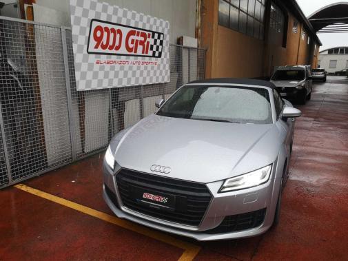 Audi TT 2.0 Tdi powered by 9000 Giri