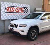 """Elaborazione Jeep Grand Cherokee 3.0 crd """"Scientificamente provata"""""""