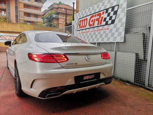 Mercedes S400 powered by 9000 Giri