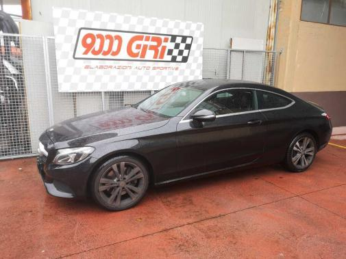 Mercedes C250cdi coupè powered by 9000 Giri