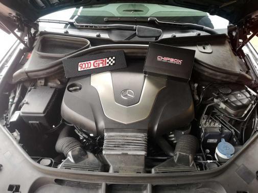 Mercedes Gle 350d powered by 9000 Giri